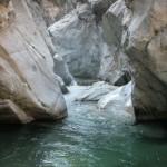 Rocce levigate del torrente Allaro