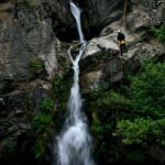 sequenza di cascate sul torrente Aposcipo