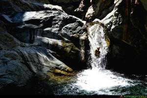 Toboga sul torrente Butramo