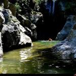 ultima cascata del campolico con immissione sul Butramo