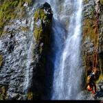 tratto finale della cascata Chalonero