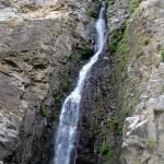 ultima cascata del ferraina cicutà 70m aw in discesa