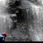 discesa del 4 salto delle Cascate Maisano
