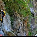 sosta esposta del torrente Barvi Basso, prima cascata