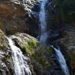 torrente Barvi cascata a monte delle Galasia