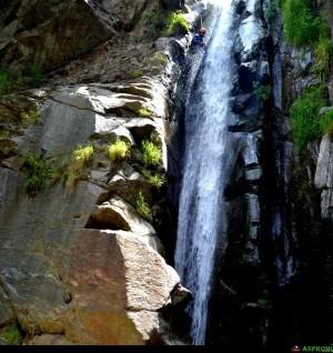 canyoning sul Mangusa discesa seconda cascata