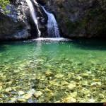 Cascata Linnha in località S.Trada