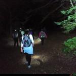 sentiero verso il rifugio Menta cavaliere