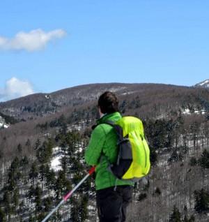 Sci da fondo escursionismo su Nino martino