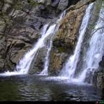 Pozza alla base delle cascate Forgiarelle
