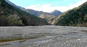 In mezzo alla valle dell'ex lago di Costantino