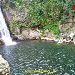 Tour delle cascate S.Trada Cascate Castanò viste dall'alto