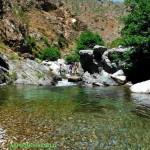 Tour delle cascate S.Trada pozza sul torrente Menta Amendolea