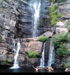 Tour delle cascate Forgiarelle
