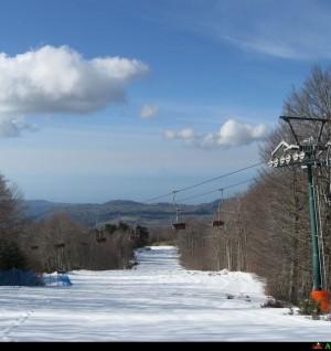 Voglia di neve pista da sci