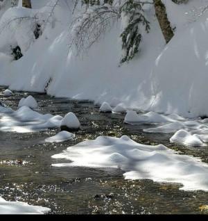 Voglia di neve piccolo torrente